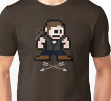 Walking Dead 8-bit Daryl Unisex T-Shirt