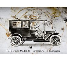 1910 Buick Photographic Print