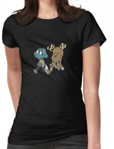The amazing world of gumball 5 Womens Fitted T-Shirt