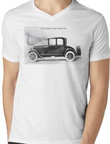 1924 Buick Coupe Mens V-Neck T-Shirt