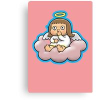 Bored Angel Canvas Print
