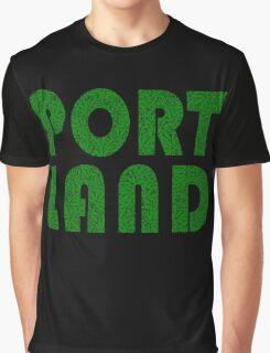 Portland Oregon (OR) Weed Leaf Pattern Graphic T-Shirt