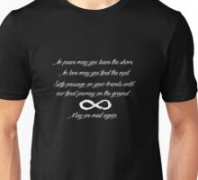 May We Meet Again Text Unisex T-Shirt