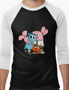 The amazing world of gumball 11 Men's Baseball ¾ T-Shirt