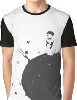 The Little Prince Black Graphic T-Shirt