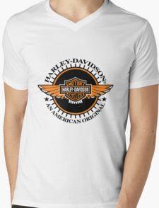 harley davidson Mens V-Neck T-Shirt