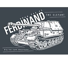 Ferdinand Tank Destroyer  Photographic Print