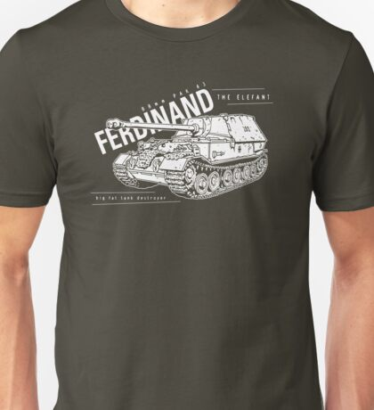 Ferdinand Tank Destroyer  Unisex T-Shirt