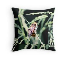 Restful Bee Throw Pillow