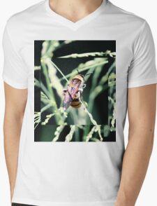 Restful Bee Mens V-Neck T-Shirt