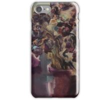 pot of dried roses  iPhone Case/Skin