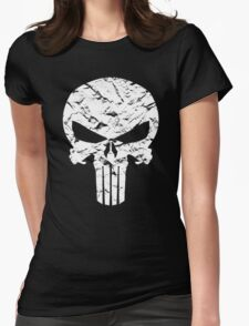 Punisher Logo Womens Fitted T-Shirt