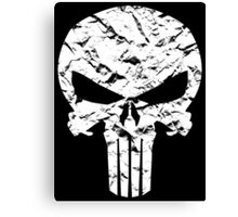 Punisher Logo Canvas Print