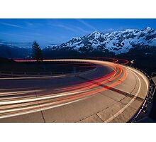 Mountain road Photographic Print