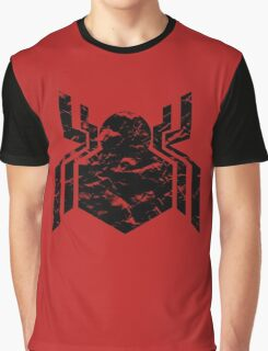 Spiderman Logo - Civil War (Black) Graphic T-Shirt