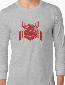 Spiderman Logo - Civil War (Red) Long Sleeve T-Shirt
