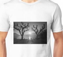 Waterfront with sunshine Unisex T-Shirt