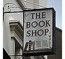 Book Sign At Bridport  Dorset. UK Photographic Print