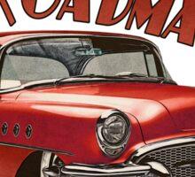 1955 Buick Roadmaster - Red 4 Sticker