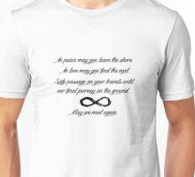 May We Meet Again Text Unisex T-Shirt