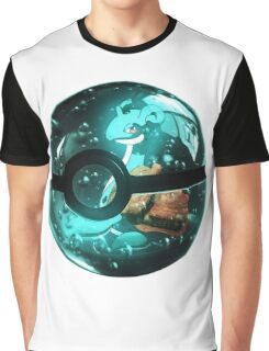 Pokeball - Lapras Graphic T-Shirt