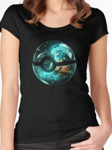 Pokeball - Lapras Women's Fitted Scoop T-Shirt