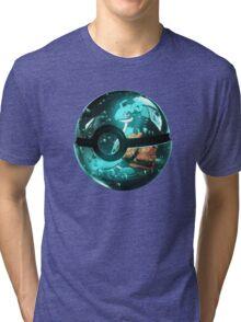 Pokeball - Lapras Tri-blend T-Shirt