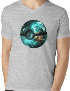 Pokeball - Lapras Mens V-Neck T-Shirt