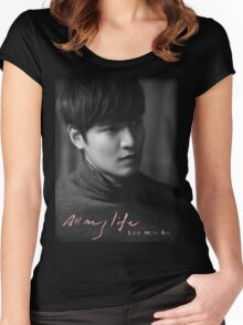 Lee Min Ho Women's Fitted Scoop T-Shirt