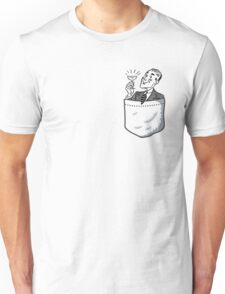 Pocket Chap - Father's Day Funny Unisex T-Shirt