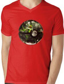 Pokeball - Sceptile Mens V-Neck T-Shirt