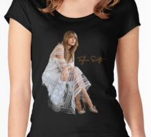 Taylor swift 0025 Women's Fitted Scoop T-Shirt