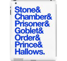 Deatahly Hallows Quotes iPad Case/Skin