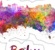 Baku skyline in watercolor Sticker