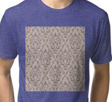 Vintage Pattern Tri-blend T-Shirt