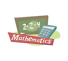 Mathematics Photographic Print