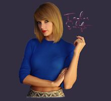 Taylor swift 0030 Women's Fitted Scoop T-Shirt