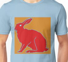 Roter Hase Unisex T-Shirt