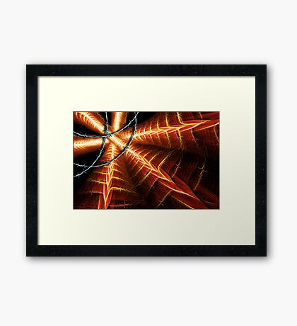 Icarus-Borne On Wings Of Steel Framed Print