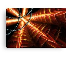 Icarus-Borne On Wings Of Steel Canvas Print