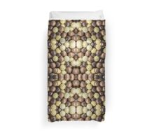 Sweet Candy Chocolate Patterns Duvet Cover