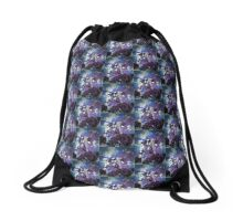 Evening Sprouts Drawstring Bag