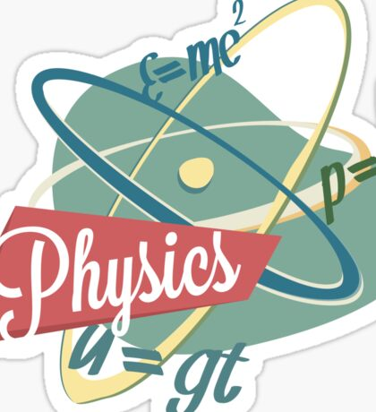 Physics Sticker