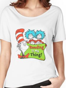 Reading is My Thing Seuss Women's Relaxed Fit T-Shirt