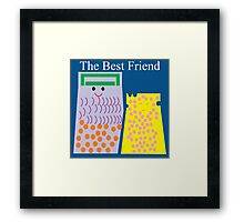 Cheese Funny Framed Print