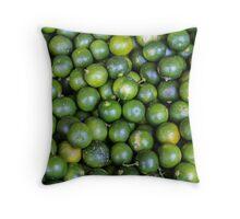 Calamansi (Sweet Green Tropical Lemon) Throw Pillow