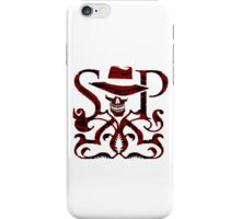 SKULDUGGERY RED/BLACK LOGO iPhone Case/Skin
