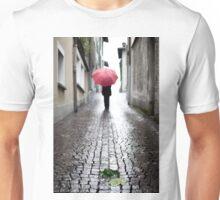 Leaf and umbrella Unisex T-Shirt