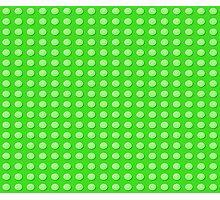 Lego (green) Photographic Print