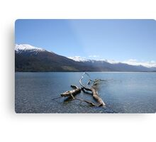Boundary Creek - New Zealand Metal Print